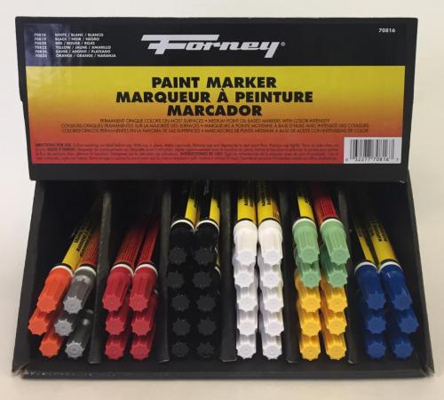 70816 Paint Marker Display